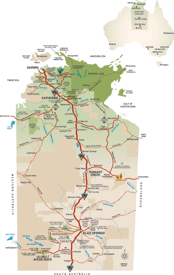 Travelling Darwin To Borroloola In Northern Territry